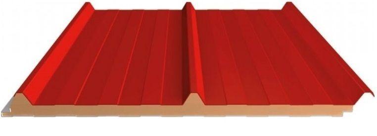 panel sandwich cubierta 3 grecas ancho 1000