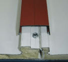 panel sandwich cubierta montaje tapajuntas
