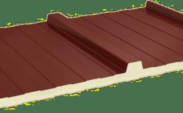 PANEL SANDWICH CUBIERTA 3 GRECAS ANCHO 1100